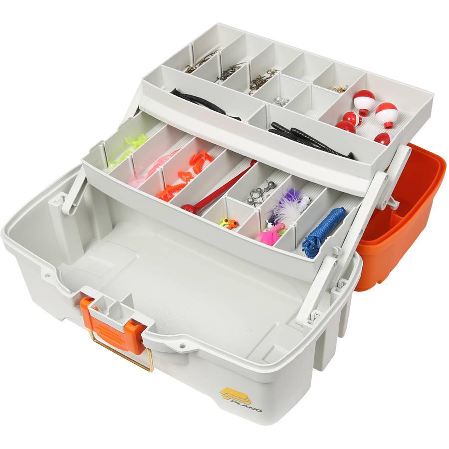 Plano Ready-Set-Fish Two-Tray Box - 024099622745