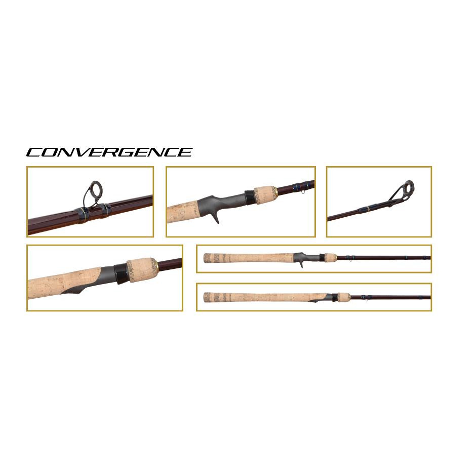 2017 Shimano Convergence Spinning Rod - 022255019163