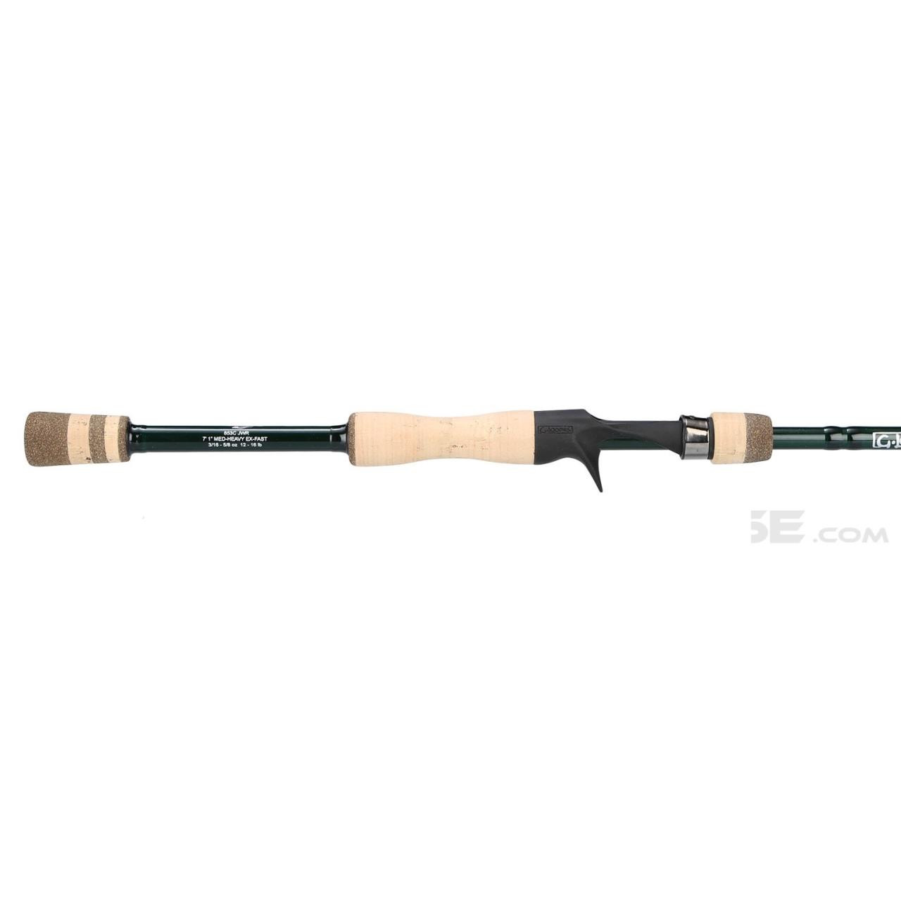 Loomis GLX Bass Casting Rod - 601040125342