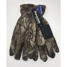 QuietWear Promo Fleece Waterproof Glove - Adventure Gray - 033977159709