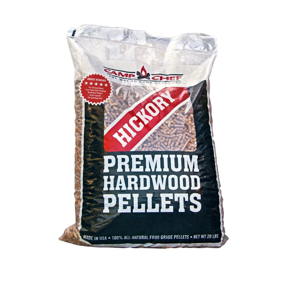 Camp Chef Hardwood Pellets 20LBS - Hickory - 033246212739