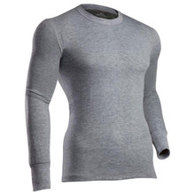 Coldpruf Platinum II 2-Layer Crew Top - Heather Grey -