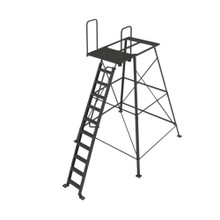 Redneck Outdoors 10' Powder Coated Tower Stand - 400001361740