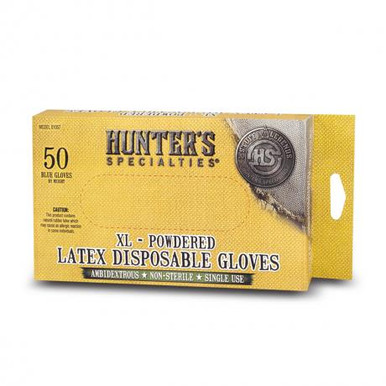 Hunter Specialty Field Dressing Gloves - 25pk - 021291010578
