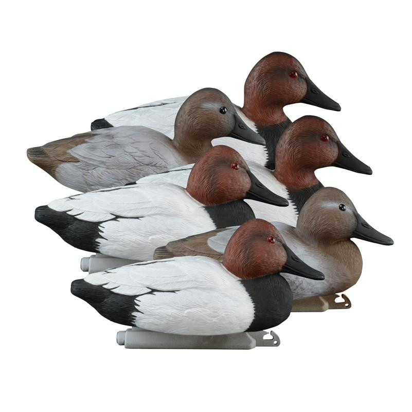 Higdon Foam Filled Standard Canvasback Floaters - 6pk - 710617196330