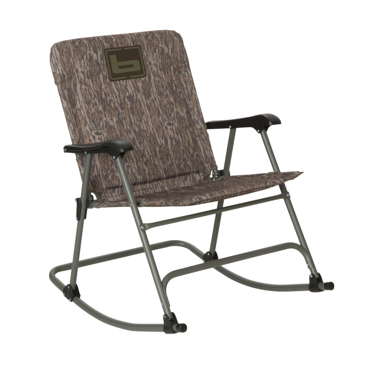 Banded Folding Rocking Chair   Bottomland   848222087122