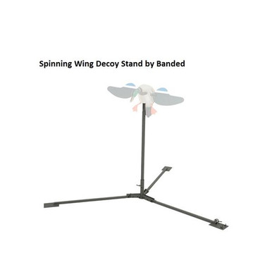 Banded Spinning Wing Decoy Stand - Dry Ground - 848222093505