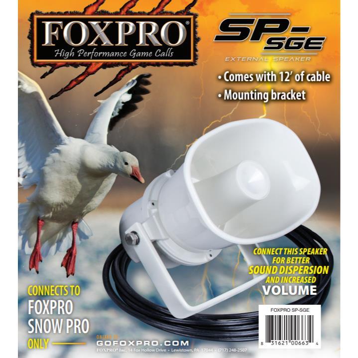Foxpro Speaker For Snow Pro 12' - 831621006634