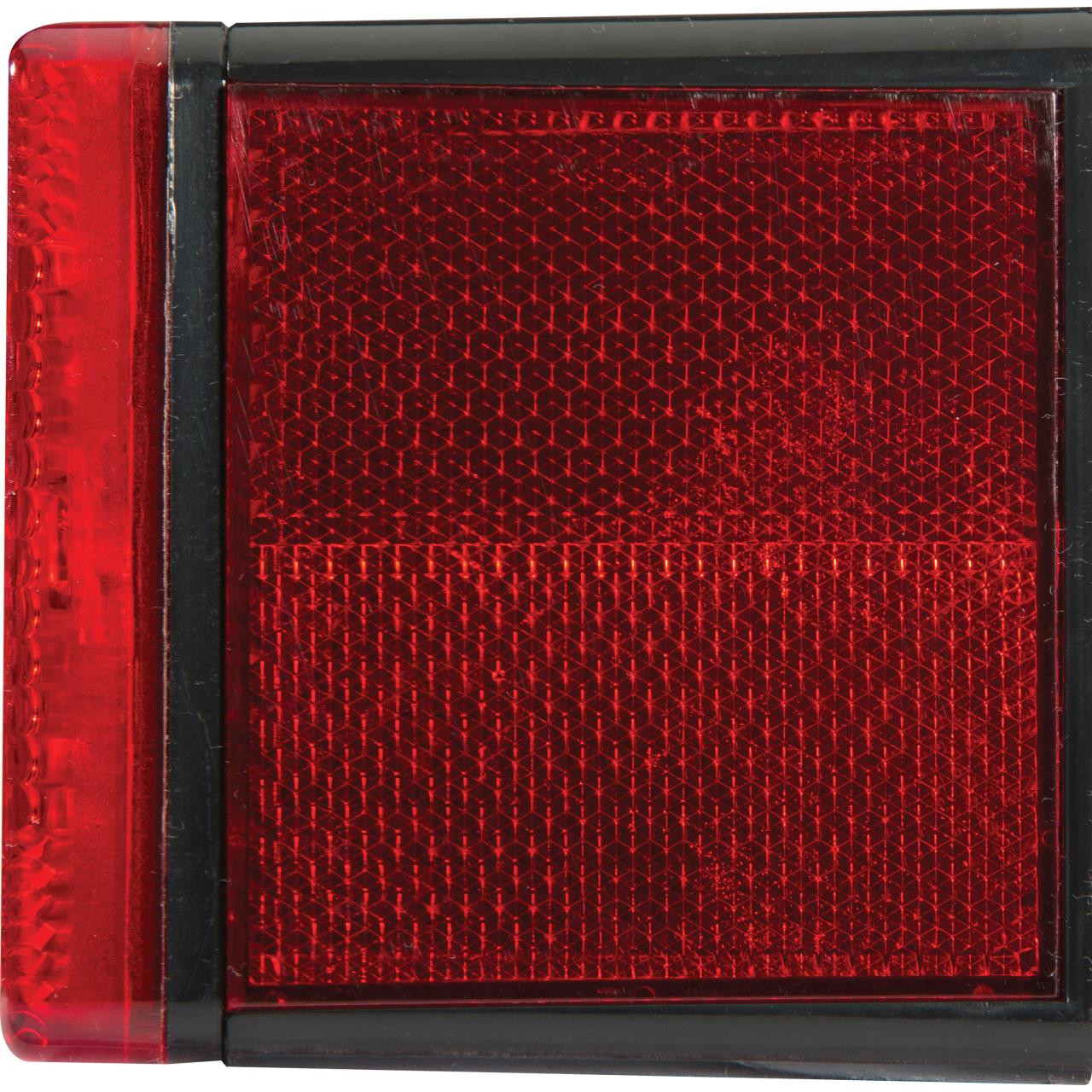 Attwood Rectangle LED Trailer Light - Left - 022697008619
