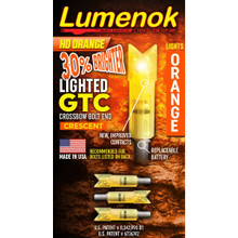 Lumenok Gold Tip Orange Cresent Bolt 3pk - 850722000273