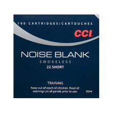 CCI 22 Short Blanks - 100 Rounds - 076683000446