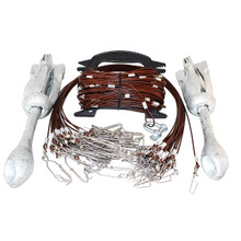 Lifetime Decoys Gang Rig 120' 24  Drops - 2 Anchors - 858706004088