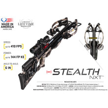 Tenpoint Stealth NXT Stantard Package - ACUdraw 50 Sled - 788244012743