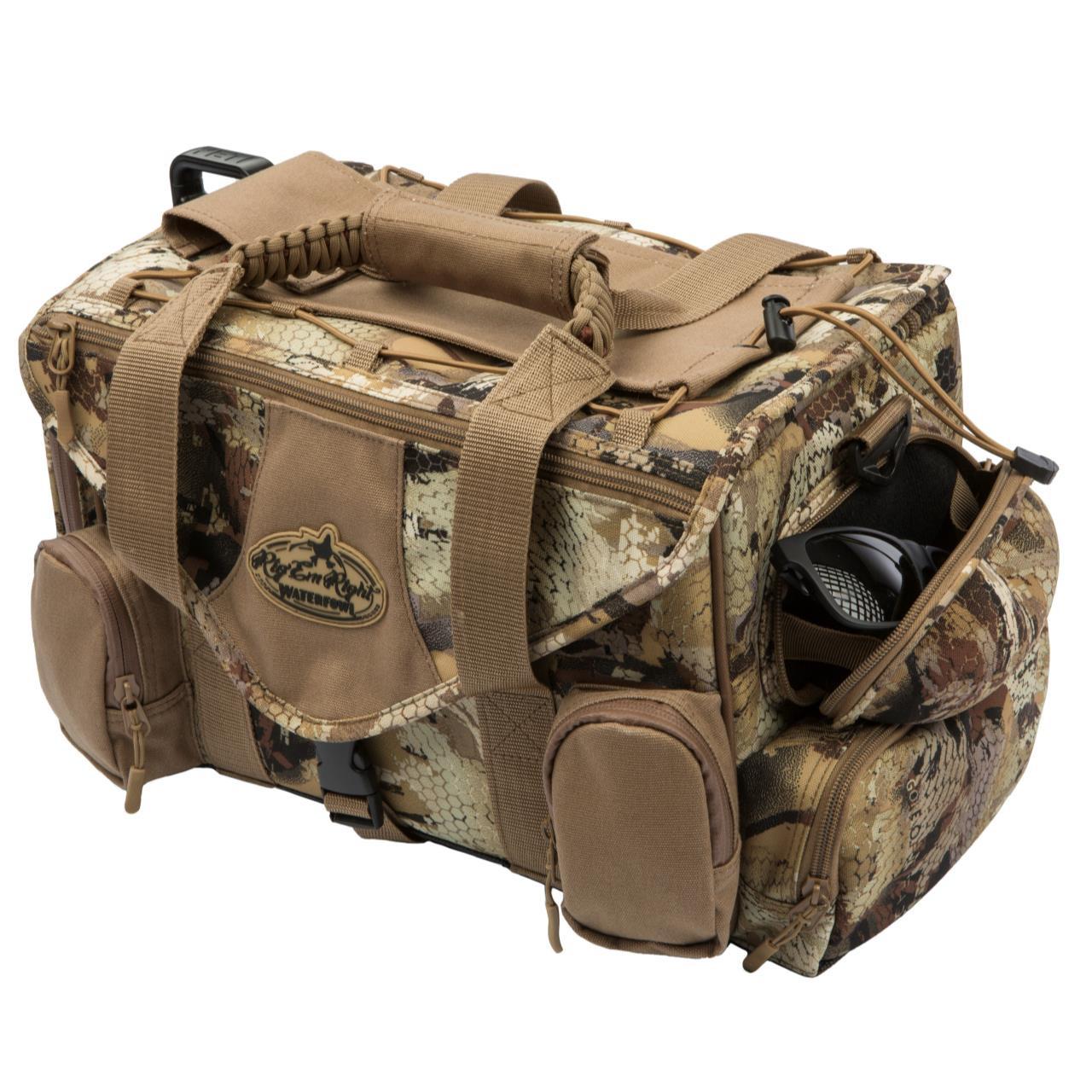Rig Em Right Shell Shocker XLT Blind Bag - Optifade Marsh - 858192005118