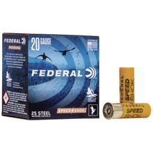 "Federal Speed Shok Waterfowl Steel 20ga 3"" 7/8oz -"