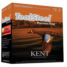 "Kent Ammunition Teal Steel Shotshells 12Ga  3"" 1-1/4oz - 250 RDS - 656308004495"