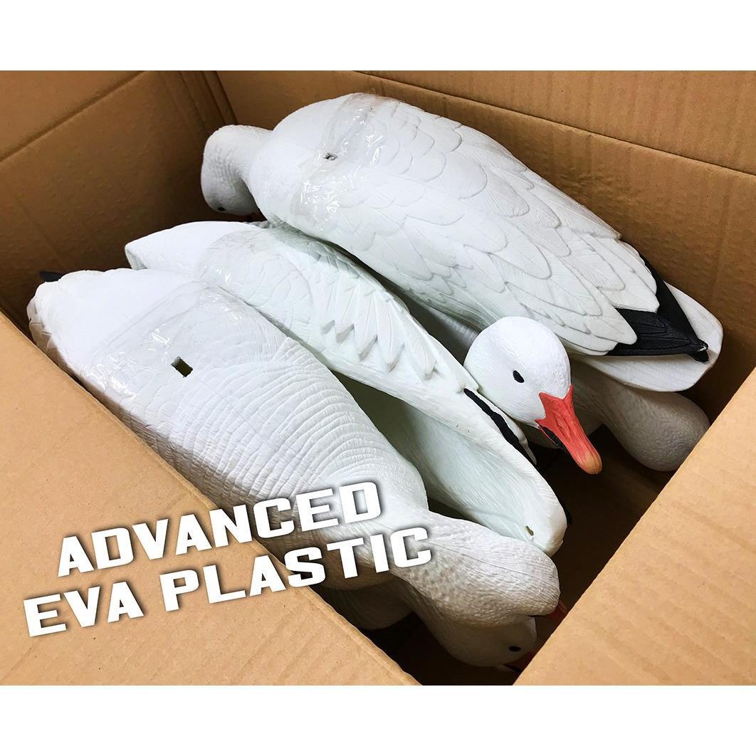 White Rock EVAC Series Full Body Snows - 6pk -