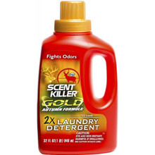 Wildlife Research Scent Killer Gold Autumn Formula Laundry Detergent - 32 FL OZ - 024641012895