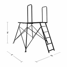 Muddy Outdoors Deluxe 5' Tower - 813094023028