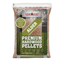 Camp Chef Hardwood Alder BBQ Pellets 20lbs - 033246212722