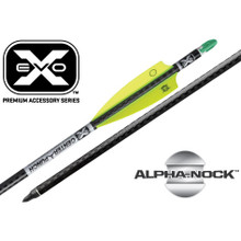 TenPoint Evo-X Centerpunch Premium Carbon Crossbow Arrows - Alpha Nock Molded - 6pk - 788244013283
