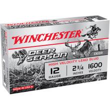 Winchester Ammo Deer Season Rifled Slug 12ga - 020892024441