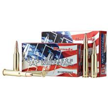 Hornady 81489 American Whitetail 6.5 Creedmoor 129 GR InterLock 20 Bx/ 10 Cs - 090255814897
