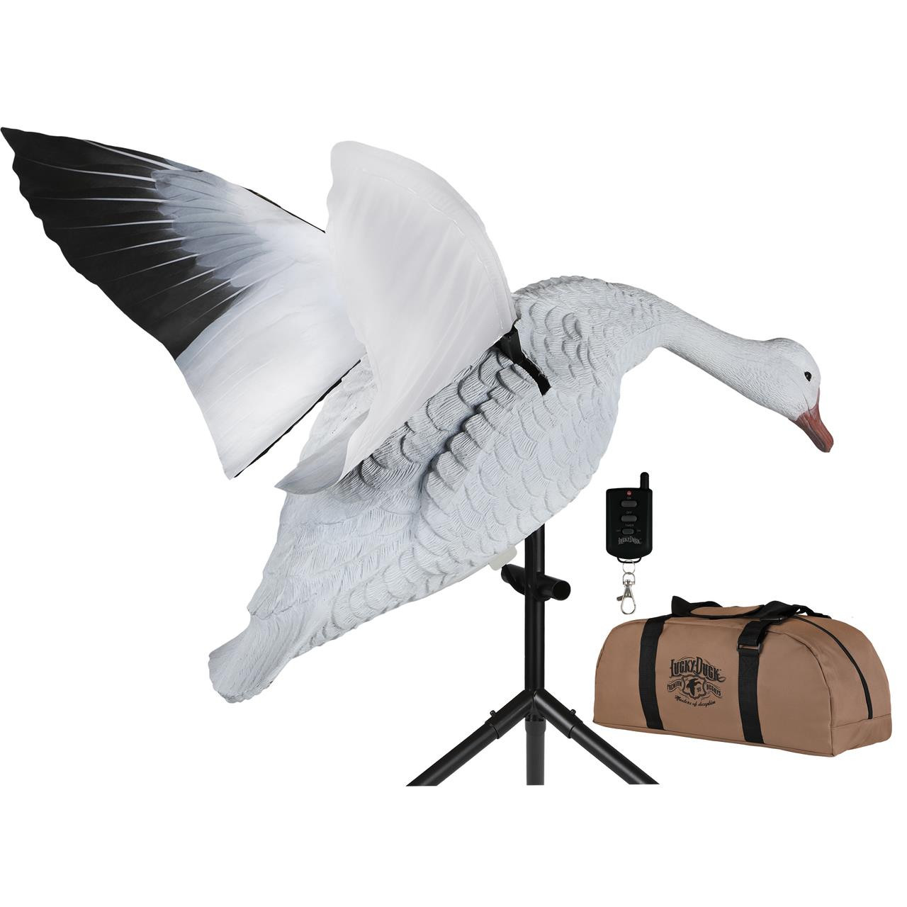 Lucky Duck Super Snow Goose Flapper Hdi - 605093116180