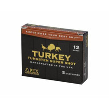 "Apex Ammunition Turkey Tss - 12 GA - 3.5"" - 2.5oz - 5/Box -"