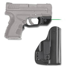 Crimson Trace Green Laserguard For Springfield Armory XD MOD.2 With BladeTech IWB Holster - 610242007721