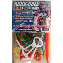 Accu Cull E-Con Tags - 7 Tags w/ Floating Lanyards - 610563278367