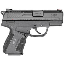 Springfield Armory XD-E 9mm 3.3 Inch Barrel Melonite Finish Fiber Optic Sight Low-Effort-Slide GripZone Ambidextrous Safety 9 Round - 706397913670