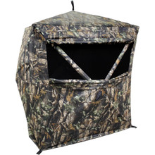 HME 2-Person Ground Blind 150D Shell Camo GRDBLND2 - 888151018910