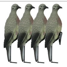 Lucky Duck Clip-On Doves with Stakes 4pk - 605093300206