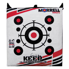 Morrell Manufact Keep Hammering Outdoor Range Bag Target - 036496115997