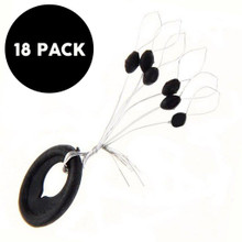 Woo! Tungsten Bobber Stops - 18 Pack -