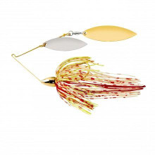 War Eagle Gold Frame Double Willow Spinnerbait - 657139101117