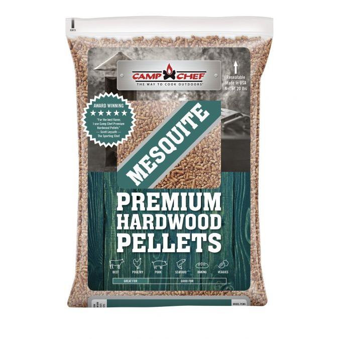 Camp Chef Southwest Mesquite BBQ Pellets - 20lb - 033246212746