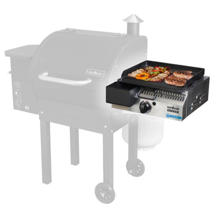 Camp Chef SideKick Grill Accessory With Flat Top Griddle - 033246215488