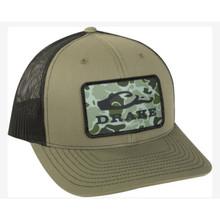 Drake Old School Patch Mesh Back Cap DH4000-LBK - 659601655159