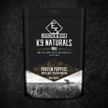 E3 K9 Protein Poppers - 5oz - 851270007127