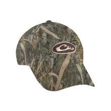 Drake Waterproof Camo Cap - Mossy Oak Shadow Grass Habitat - 659601723308
