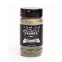 Meat Church Gourmet Garlic & Herb - 6oz -