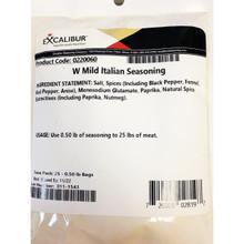 Excalibur Seasoning W Mild Italian Season .50 lb - 729009028197
