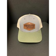 Presleys Outdoors Richardson 112 Trucker Cap - Olive Green/Grey/Tan - 400001668641