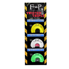 Field Proven Twisted Triple Turkey Diaphragm Call Pack - 855857003571