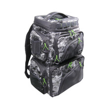 Evolution Outdoor Large Mouth Double Decker Mossy Oak Tackle Backpack - 814640023264