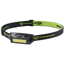 Streamlight Bandit Pro Rechargeable LED Headlight - Black - With USB Cord, Hat Clip, & Elastic Headstrap - Clam - 080926617148