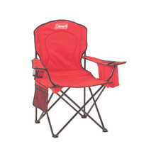 Coleman Cooler Quad Chair - Red - 076501033847