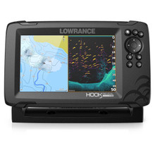Lowrance HOOK Reveal 7 SplitShot with CHIRP, DownScan & US Inland charts - 9420064114474